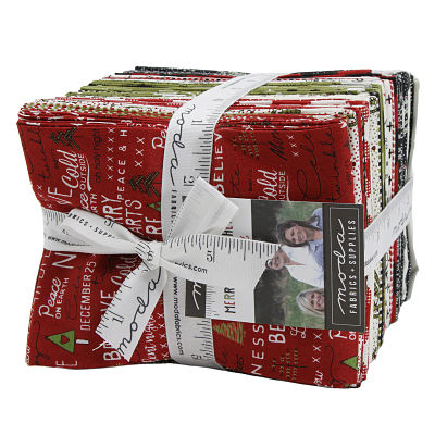 Moda Fat Quarter Bundle - Merry Starts Here by Sweetwater