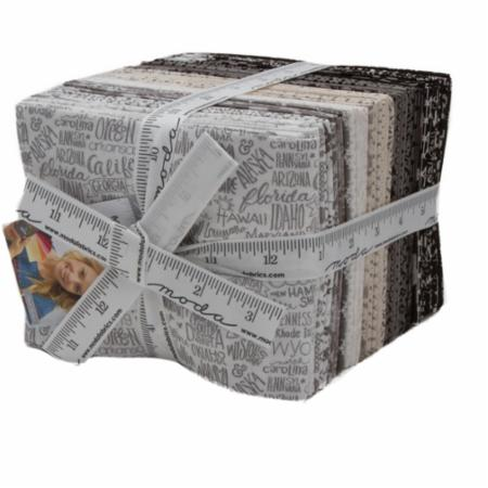 Moda Fat Quarter Bundle - Metropolis by Basic Grey