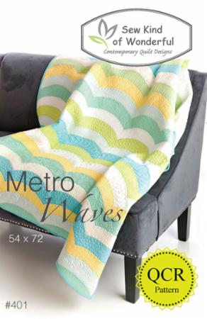 Metro Waves Pattern by Sew Kind Of Wonderful