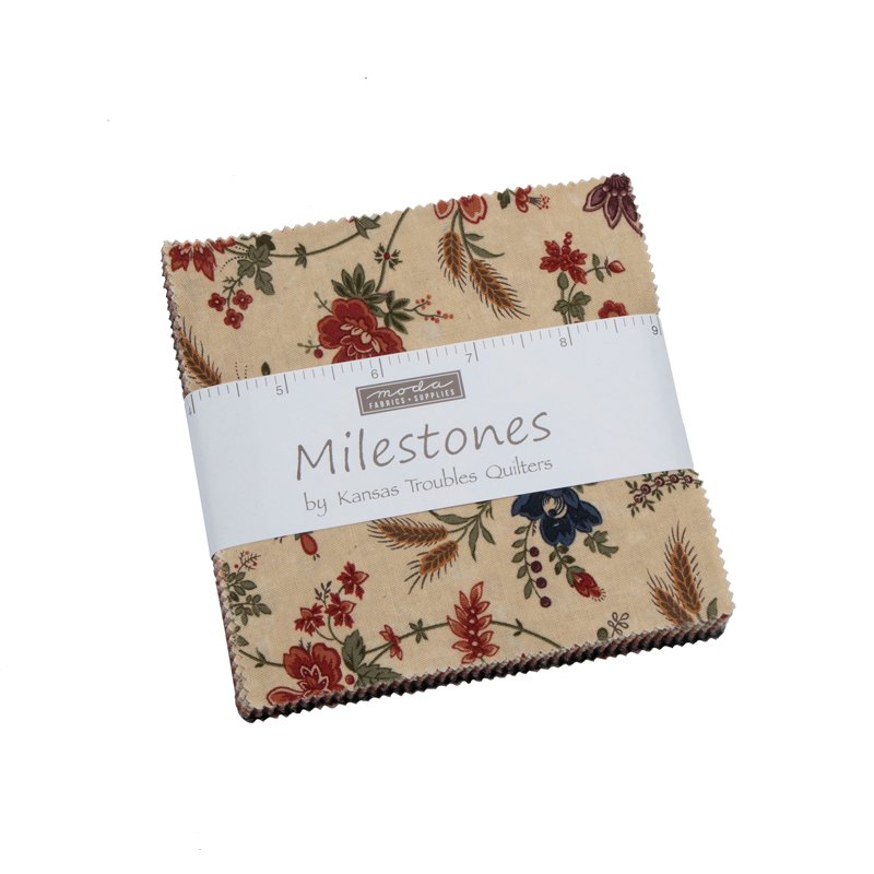 Moda Charm Pack - Milestones by Kansas Troubles Quilters