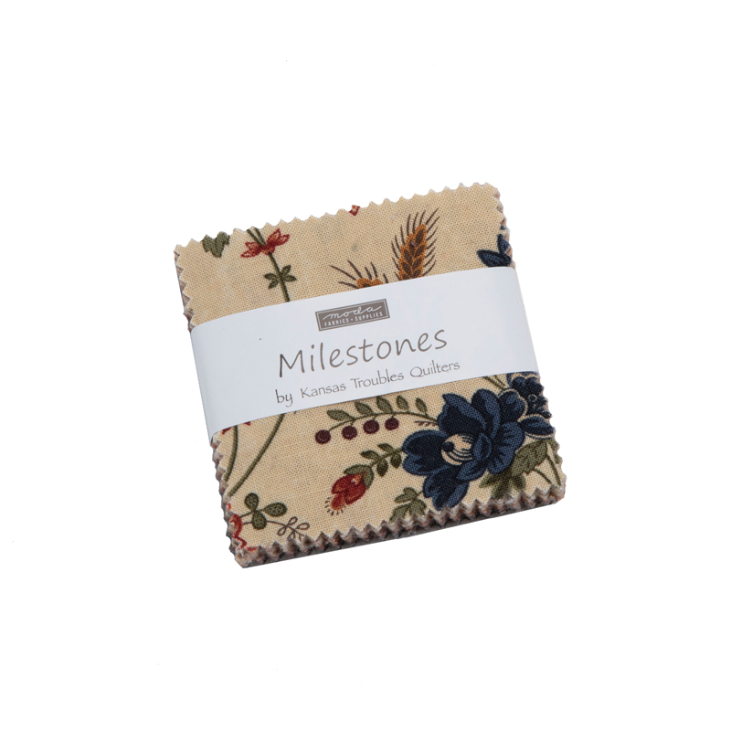 Moda Mini Charm - Milestones by Kansas Troubles Quilters
