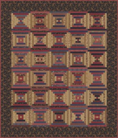 Moda Quilt Kit - Collections Mill Book 1889 by Howard Marcus