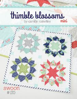 Swoon Mini Quilt Pattern by Camille Roskelley