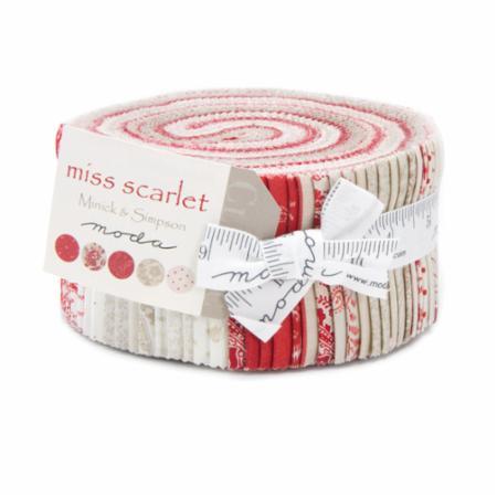 Moda Jelly Roll - Miss Scarlet by Minick & Simpson
