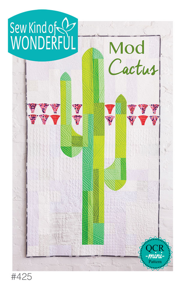 Mod Cactus Pattern by Sew Kind Of Wonderful