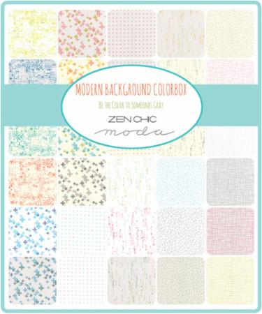 Moda Charm Pack - Modern Background Colorbox by Zen Chic
