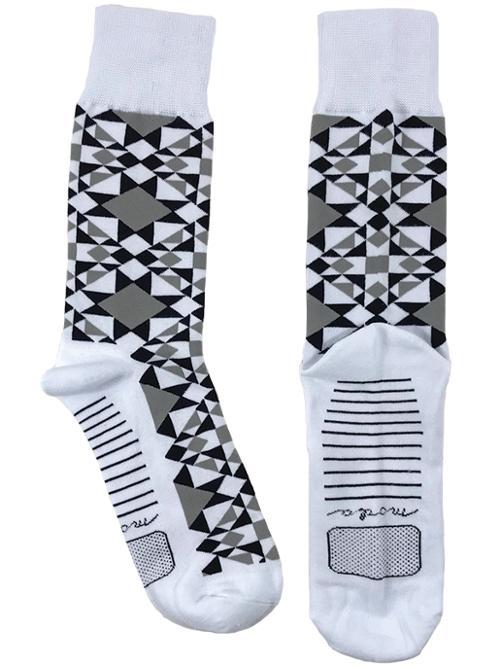 Modern Bulding Blocks Moda Socks