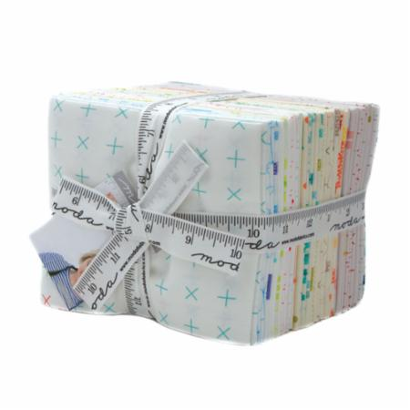 Moda Fat Quarter Bundle - Modern Background Colorbox by Zen Chic