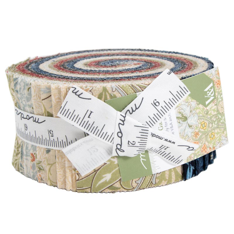 Moda Jelly Roll - Morris Garden by V & A Museum