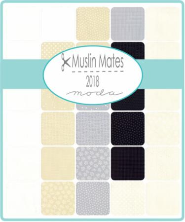 Moda Fat Quarter Bundle - Muslin Mates 2018