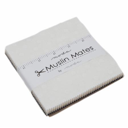 Moda Charm Pack - Muslin Mates 2018