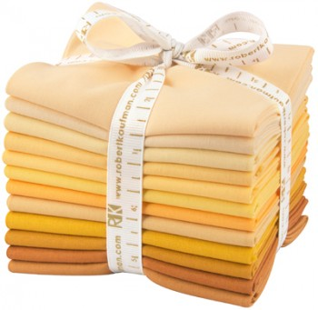 Robert Kaufman Fat Quarter Bundle - Mustard Seed