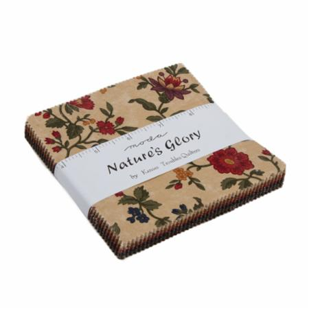 Moda Charm Pack - Nature's Glory by Kansas Troubles Quilters