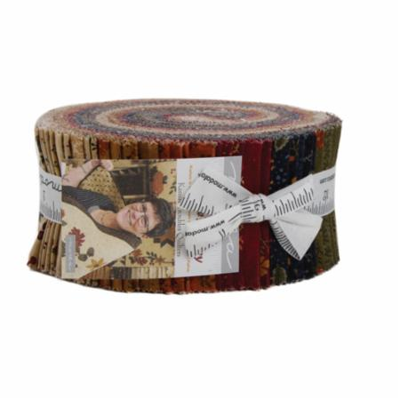 Moda Jelly Roll - Nature's Glory by Kansas Troubles Quilters