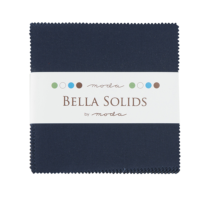 Solids Charm Pack - Navy 9900 20