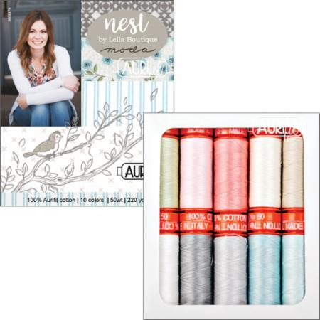 Nest Collection Aurifil Spools