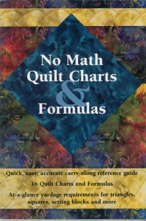 No Math Quilt Charts & Formulas Book