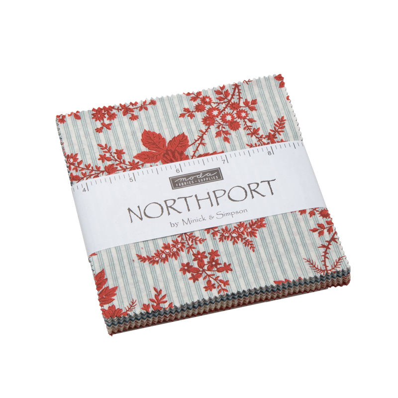 Moda Charm Pack - Northport by Minick & Simpson