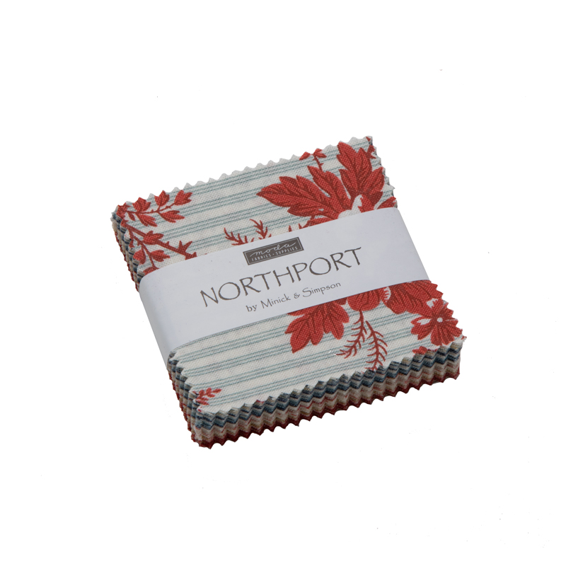 Moda Mini Charm - Northport by Minick & Simpson