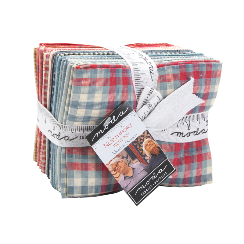 Moda Fat Quarter Bundle - Northport WOVENS by Minick & Simpson