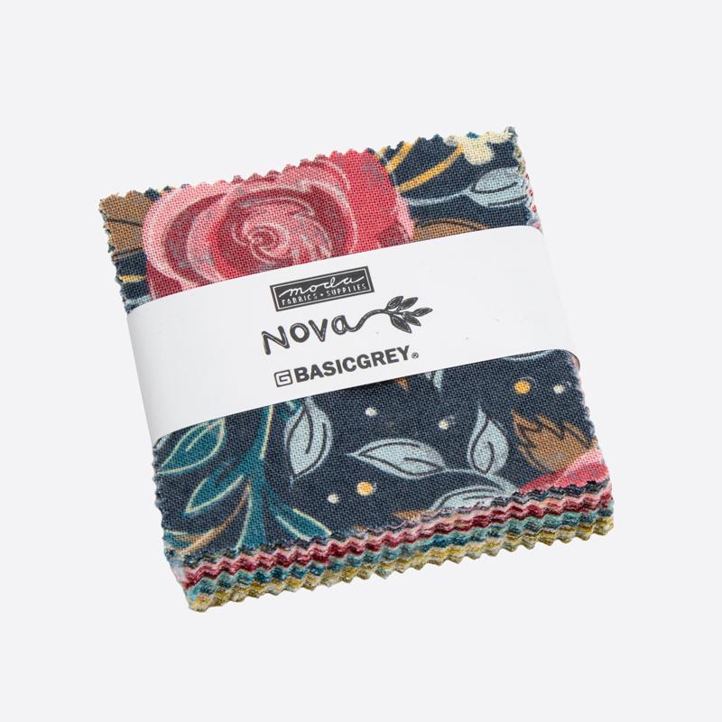 Moda Mini Charm - Nova by Basic Grey
