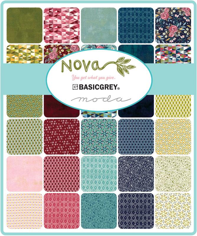 Moda Fat Quarter Bundle - Nova by Basic Grey