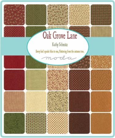 Moda Jelly Roll - Oak Grove Lane by Kathy Schmitz