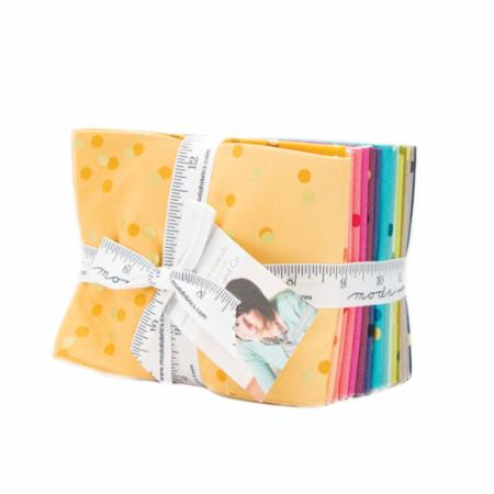 Moda Fat Quarter Bundle - Ombre Confetti by V & Co