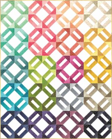 Moda Quilt Kit - Ombre Confetti by V & Co