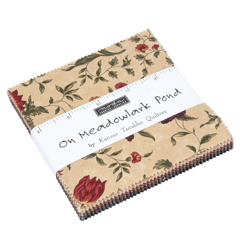 Moda Charm Pack - On Meadowlark Pond by Kansas Troubles Quilters