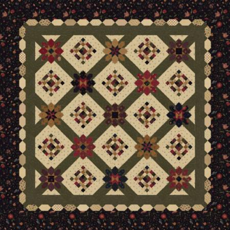 Moda Quilt Kit - On Meadowlark Pond by Kansas Troubles Quilters