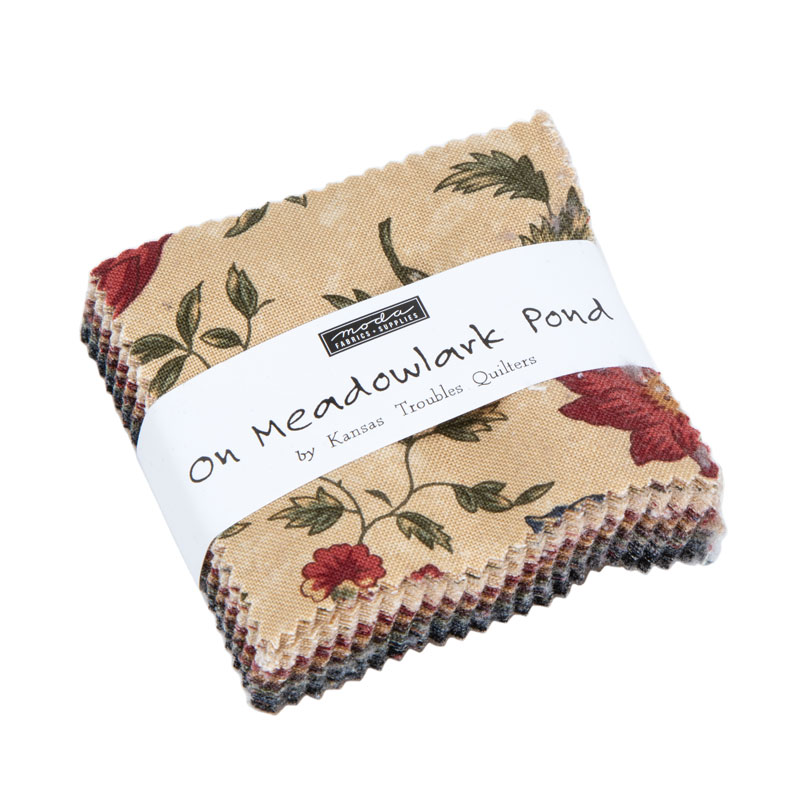 Moda Mini Charm - On Meadowlark Pond by Kansas Troubles Quilters