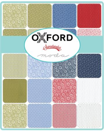 Moda Layer Cake - Oxford by Sweetwater