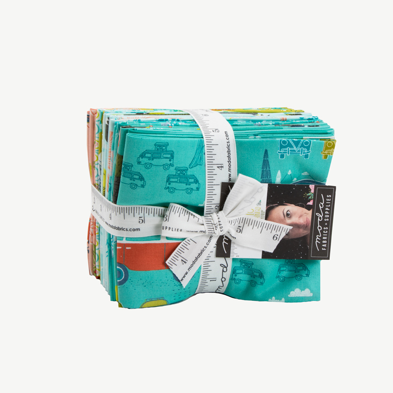 Moda Fat Quarter Bundle - Pacific Wanderings by Mara Penny