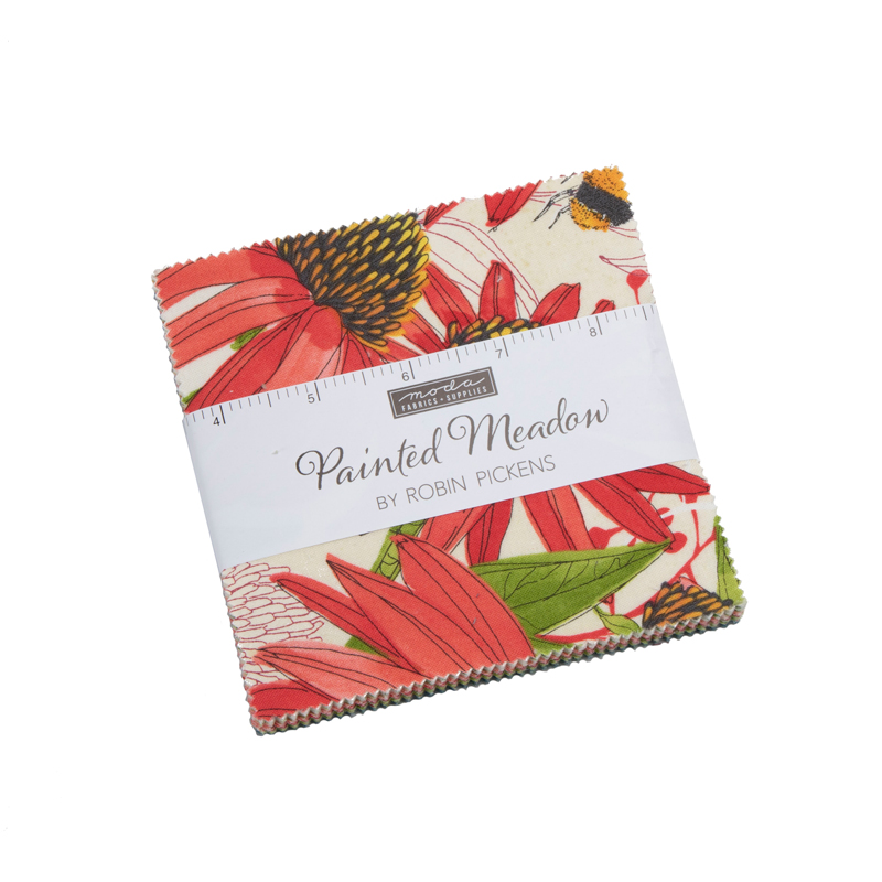 Moda Charm Pack - Painted Garden by Crystal Manning