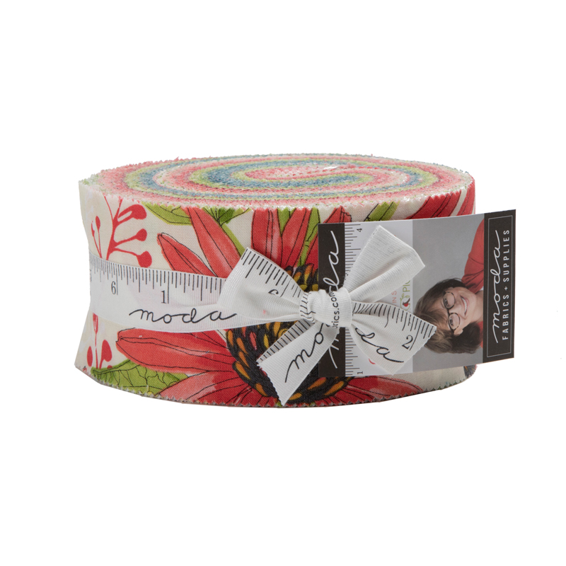 Moda Jelly Roll - Painted Meadow by Robin Pickens