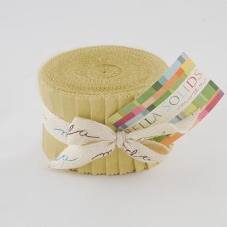Moda Bella Solids Junior Jelly Roll - Parchment 9900 39
