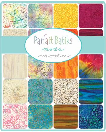 Moda Fat Quarter Bundle - Parfait Batiks by Moda