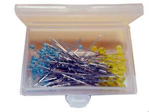 Clover Patchwork Pins