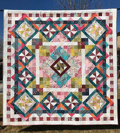 Patchwork Tillie Quilt Pattern