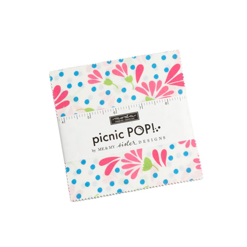 Moda Charm Pack - Sunday Picnic by Stacy Iest Hsu