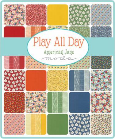 Moda Fat Eighth Bundle - Play All Day by American Jane