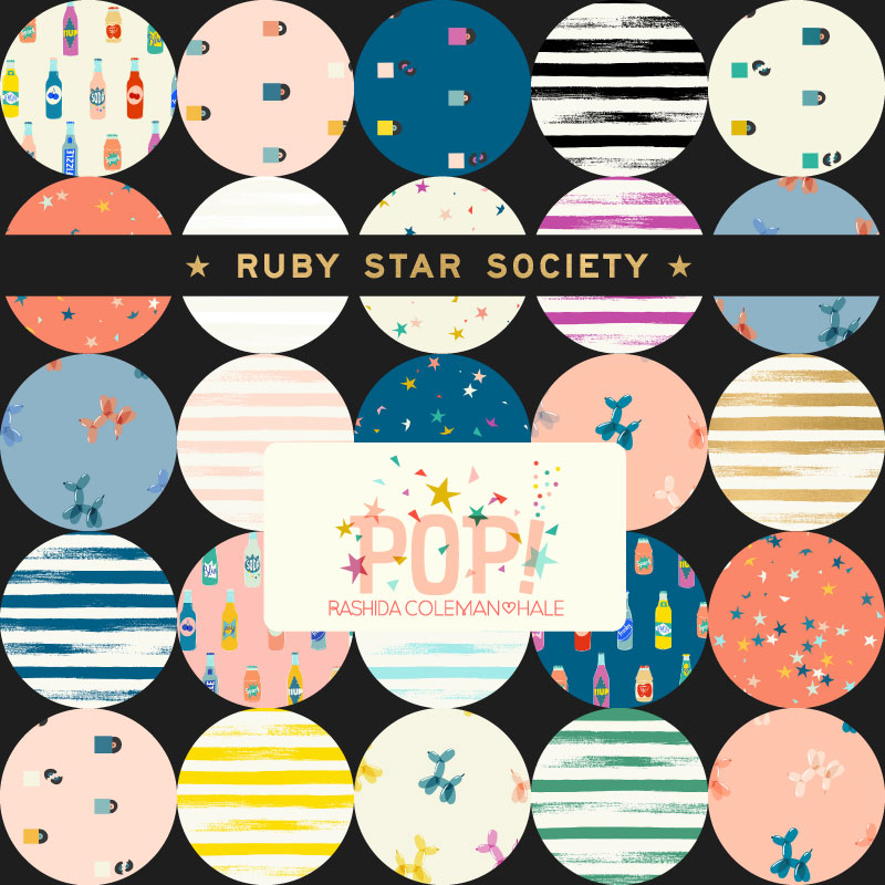 Moda Fat Quarter Bundle - Ruby Star Society POP by Rashida Coleman Hale