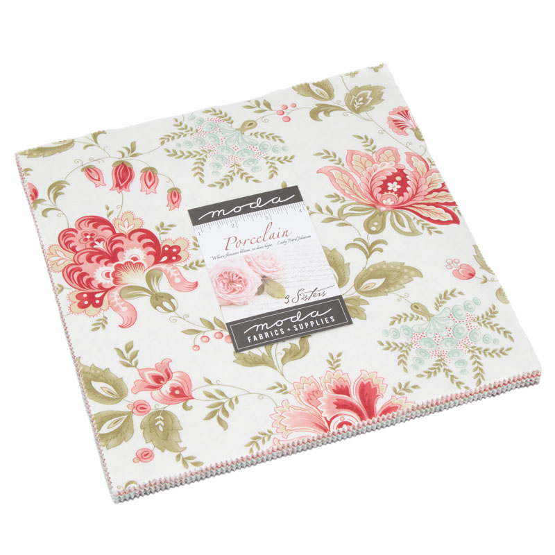 Moda Layer Cake - Porcelain by 3 Sisters