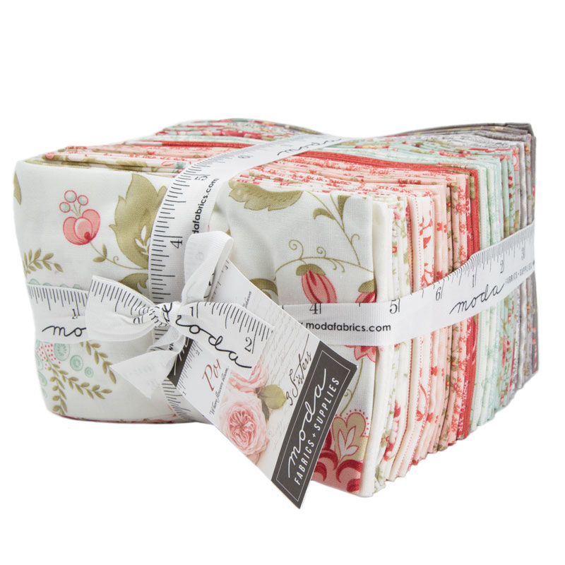 Moda Fat Eighth Bundle - Porcelain by 3 Sisters