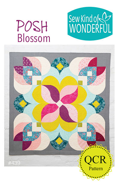 Posh Blossom Pattern by Sew Kind Of Wonderful