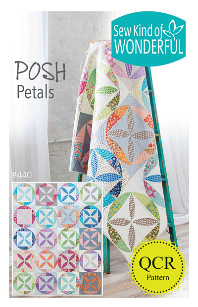 Posh Petals Pattern by Sew Kind Of Wonderful