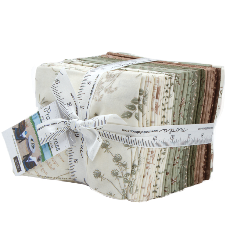 Moda Fat Quarter Bundle - Prairie Grass by Holly Taylor