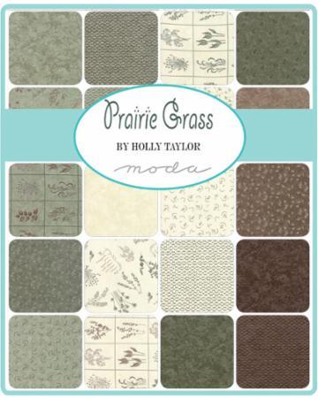Nov/18 - Prairie Grass Charm Pack