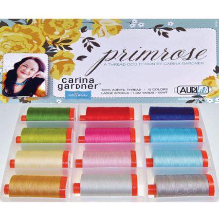 Primrose 50wt Aurifil 12 Large Spools